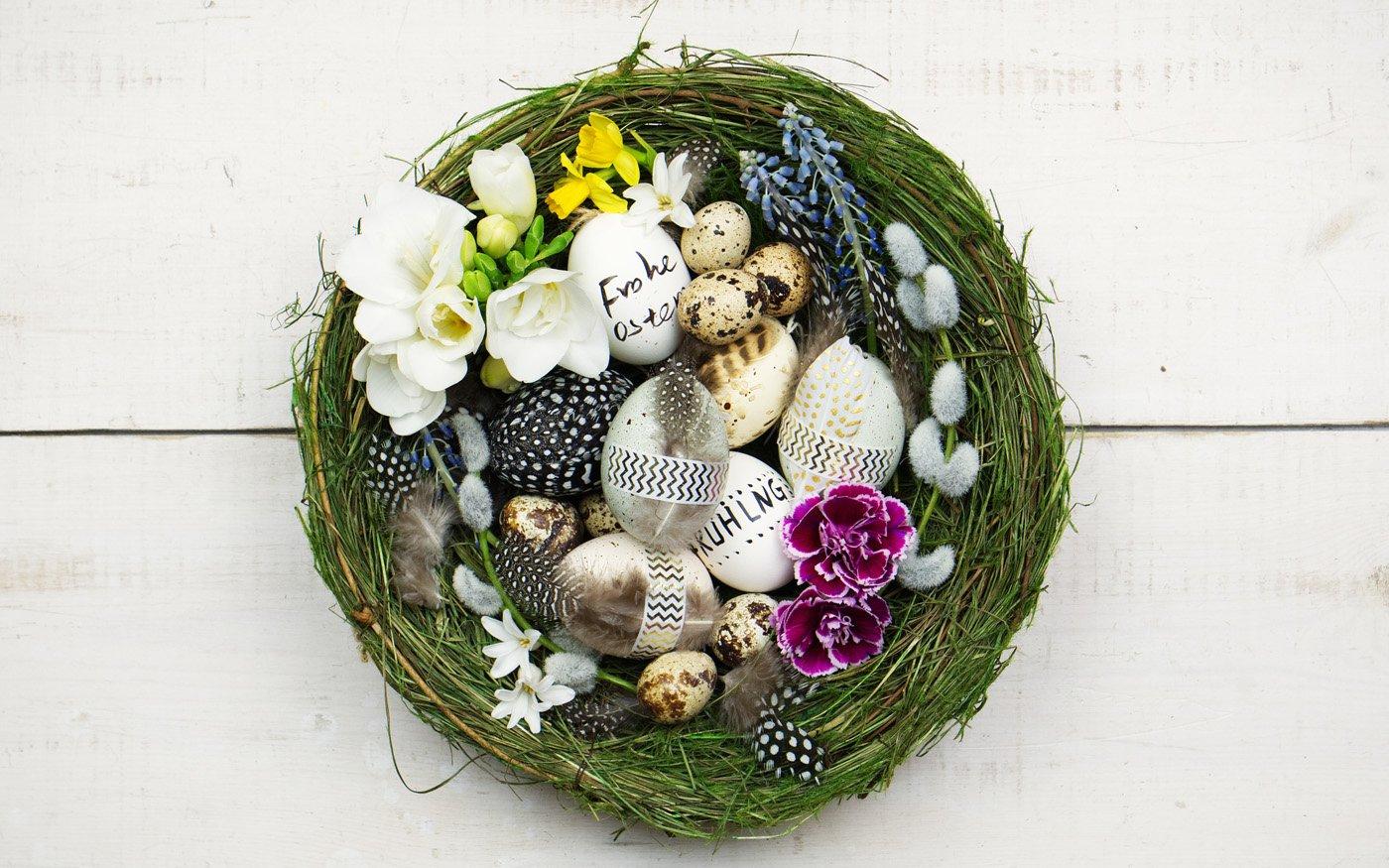 Oster Nest basteln